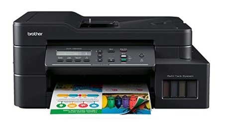 Nạp mực máy in Brother DCP-T820W